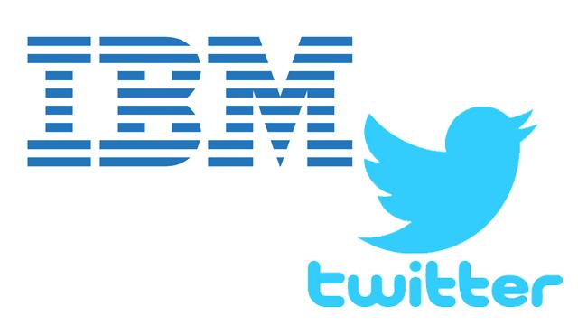 Twitter e IBM la alianza perfecta
