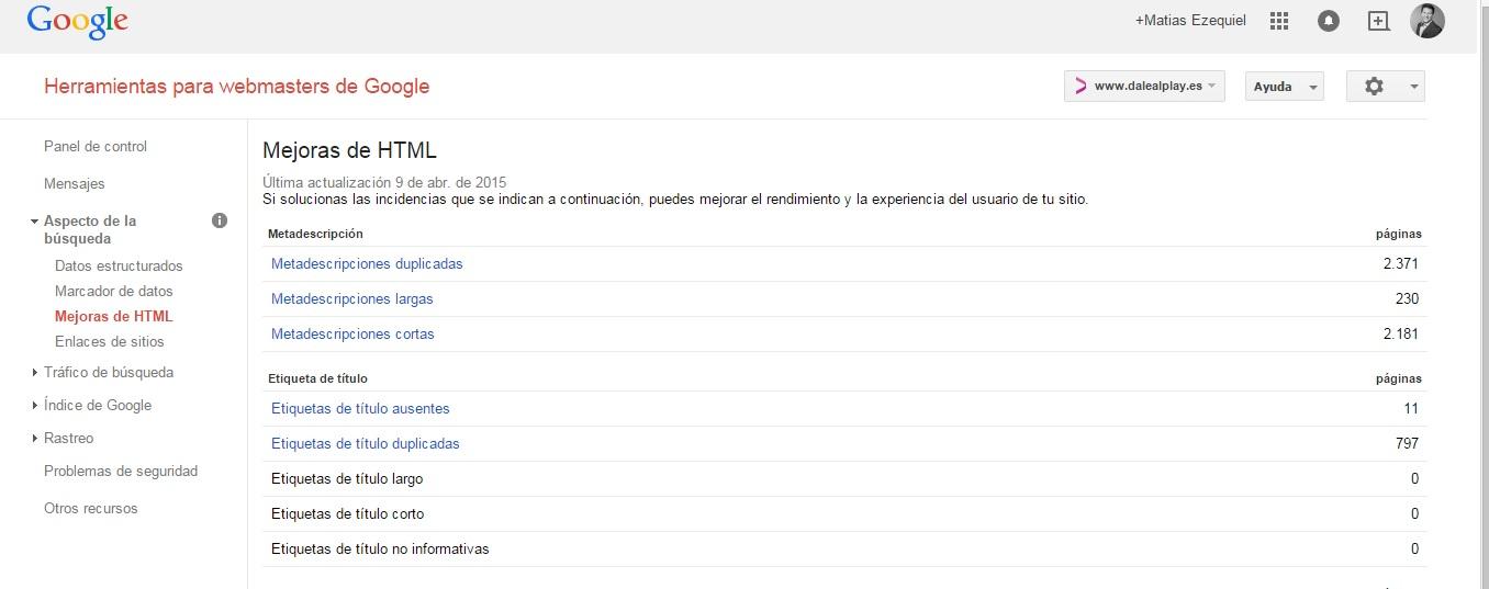Guía completa Webmaster tools 12