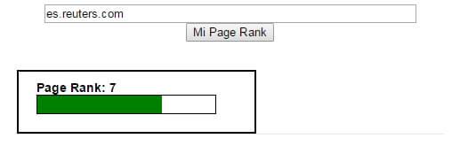 Calcular tu Page Rank