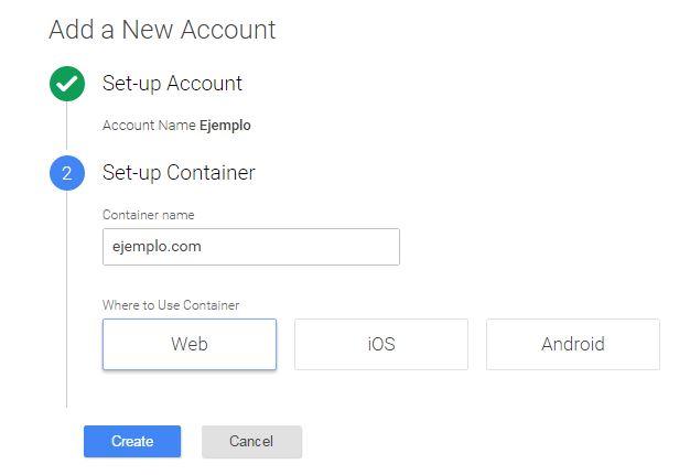 Crear cuenta Google Tag Manager -2
