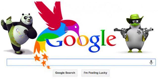 Actualizaciones algoritmicas de Google