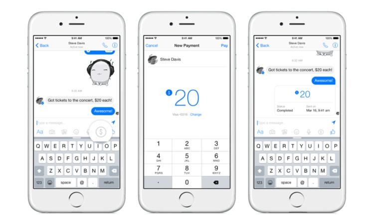 facebook-pagos-messenger