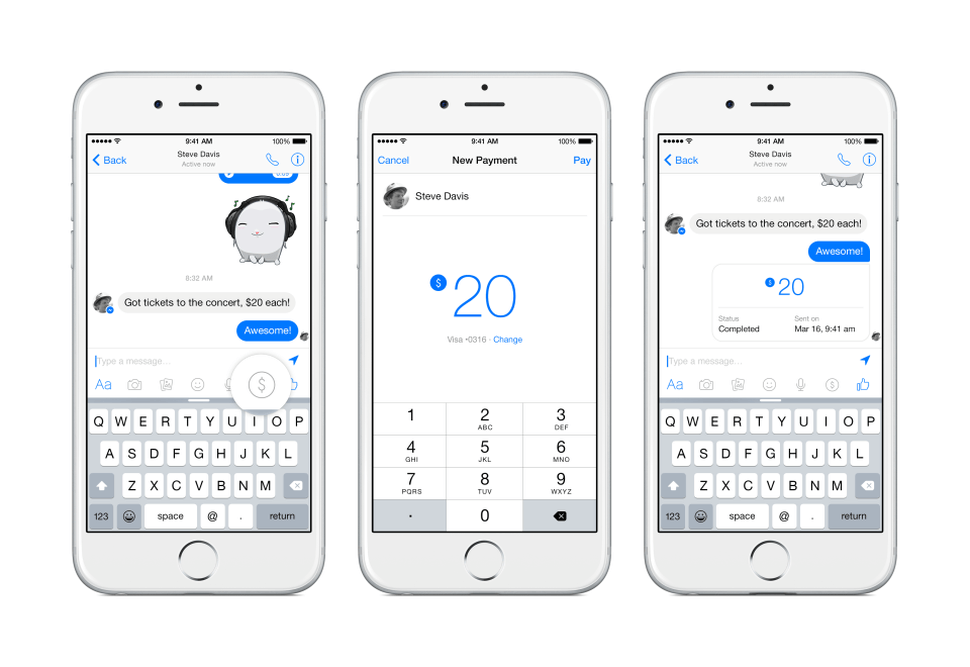 facebook-pagos-messenger
