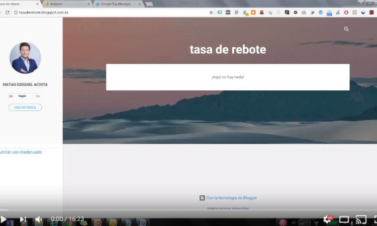 ¿Cómo modificar la tasa de rebote en Google Analytics?